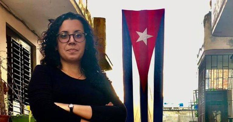 Camila Acosta, la corresponsal del medio español ABC España fue detenida luego de trabajar en la cobertura de las protestas, en Cuba