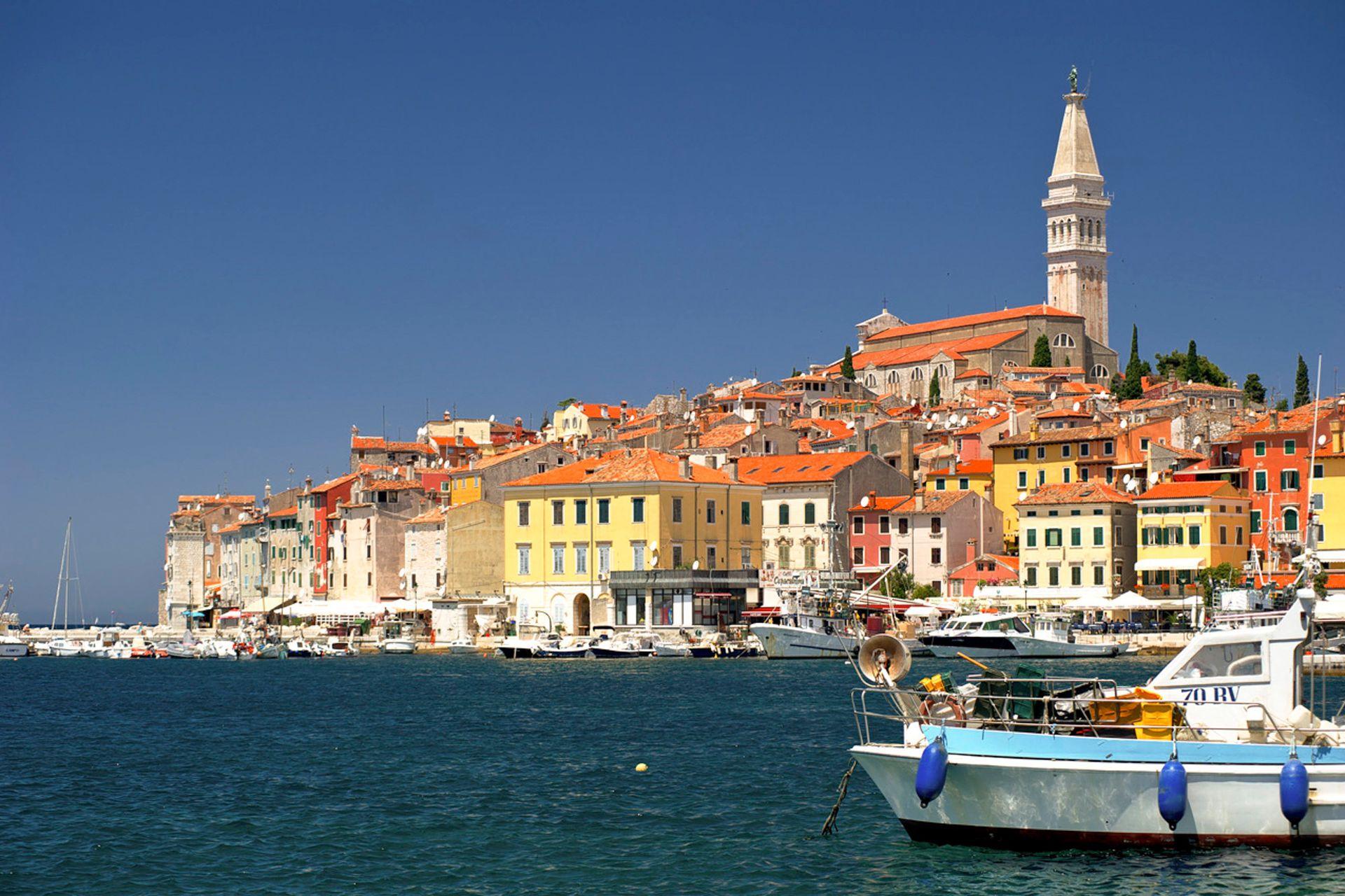 Rovinj, Croacia.