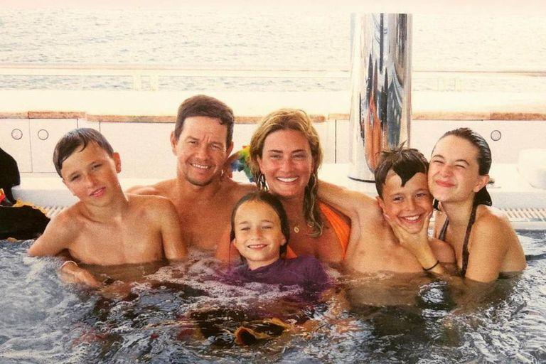 La familia Wahlberg, una de las más unidas en Hollywood