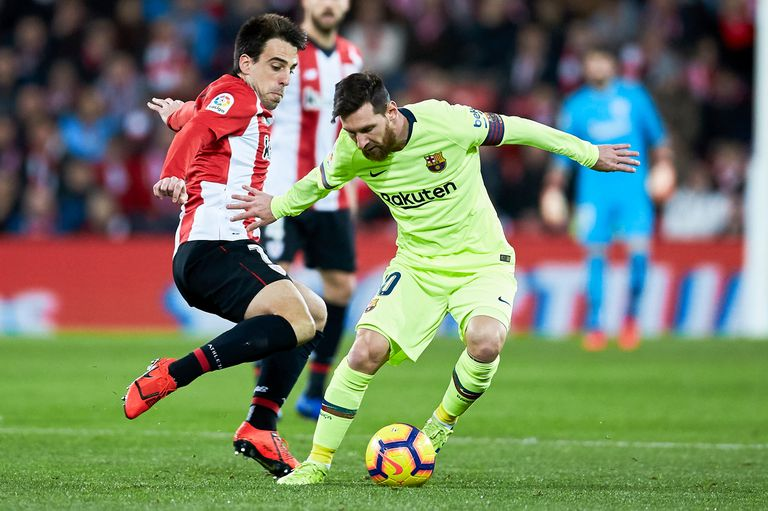 Athletic de Bilbao recibe a Barcelona con Messi de titular