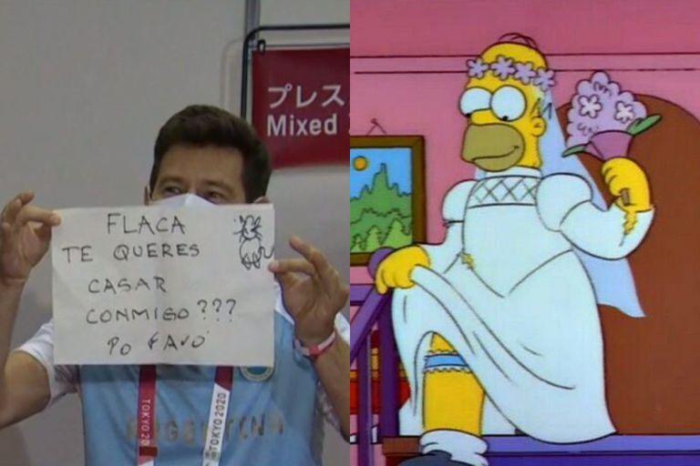 Los mejores memes de la propuesta de casamiento del novio de Belén Pérez Maurice en los Juegos Olímpicos