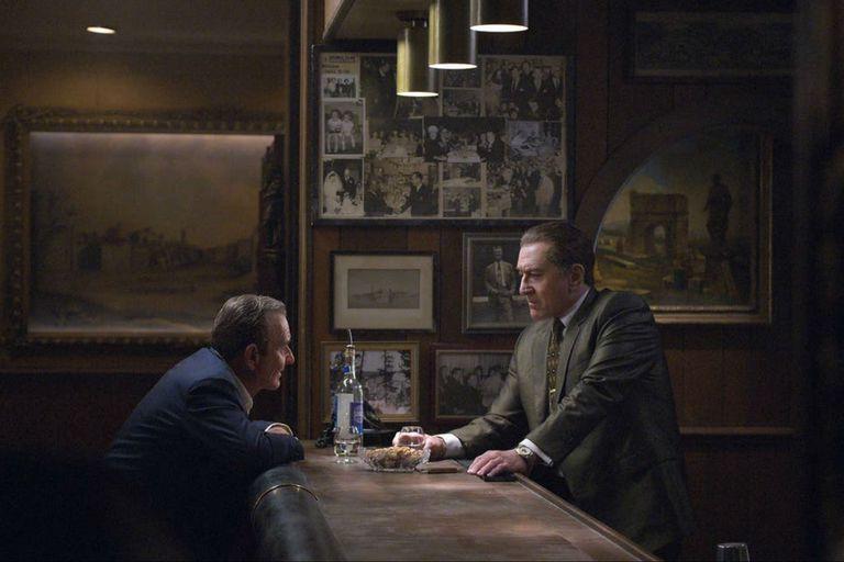 Joe Pesci y Robert De Niro, rejuvenecidos en pantalla por el cineasta, que tuvo que esperar diez años para conseguir los 160 millones de dólares que costó la película, finalmente financiada por la plataforma de streaming