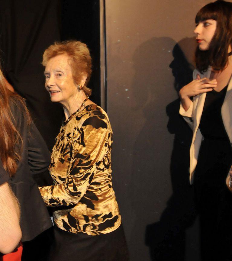Lilian Clark llegó en familia a ver el homenaje del Cirque Du Soleil a su hijo