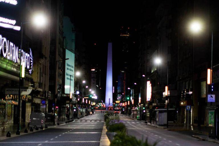 La prohibición de circular será desde la medianoche en la ciudad de Buenos Aires