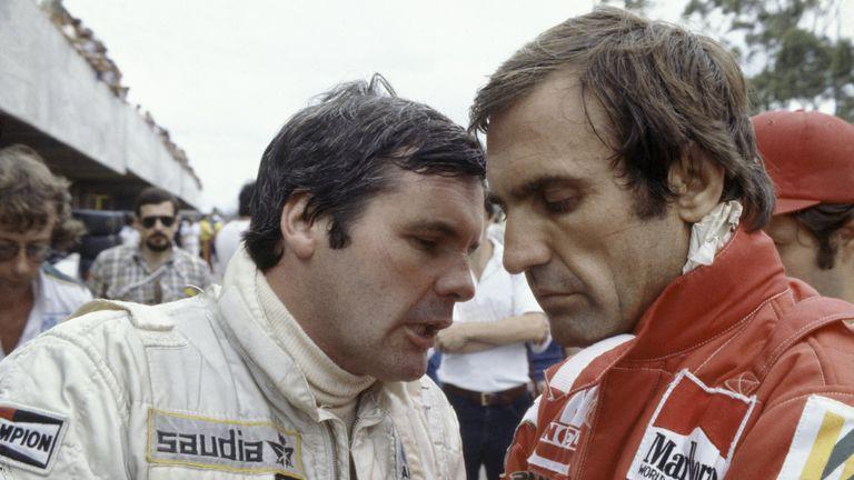 La relación de Lole con Alan Jones se quebró tras el GP de Brasil: eran rivales, no compañeros de equipo