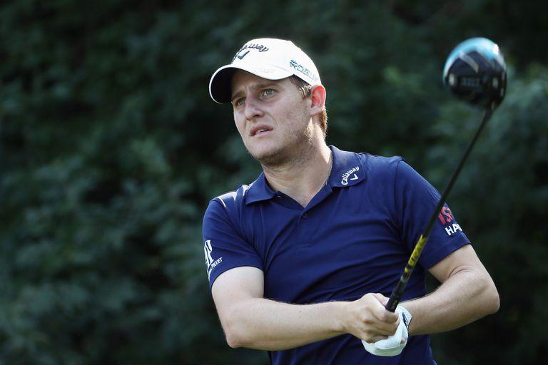 El campo blando y su buen juego empujan a Grillo en el PGA Championship