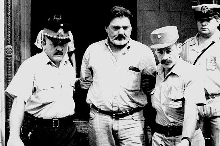 Mario Fendrich, al entregarse en enero de 1995