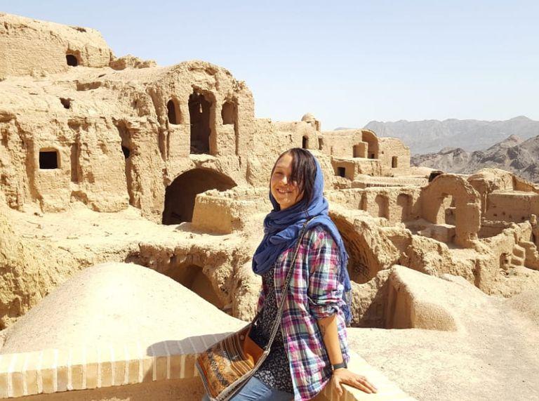 """""""Irán es el país del mundo donde más segura me sentí"""""""