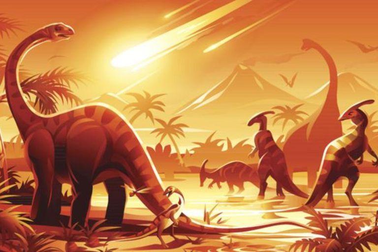 En potente asteroide causó la extinción de los dinosaurios cuando golpeó la Tierra hace 65 millones de años