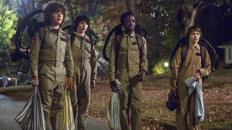 La noche de Halloween según la serie de Netflix