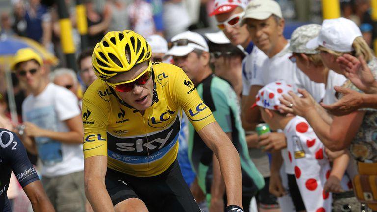 Froome, ganador del Tour de France