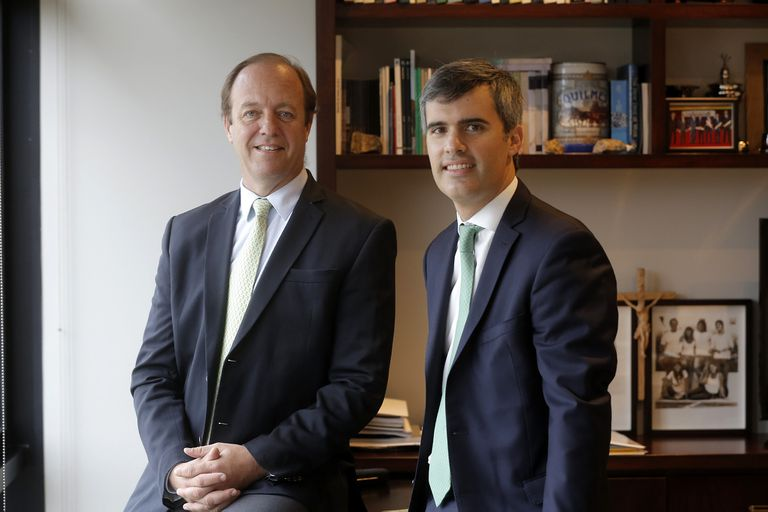 Gonzalo Tanoira, presidente de ACDE, e Ignacio Gorupicz, presidente del XXIV Encuentro Anual de la entidad