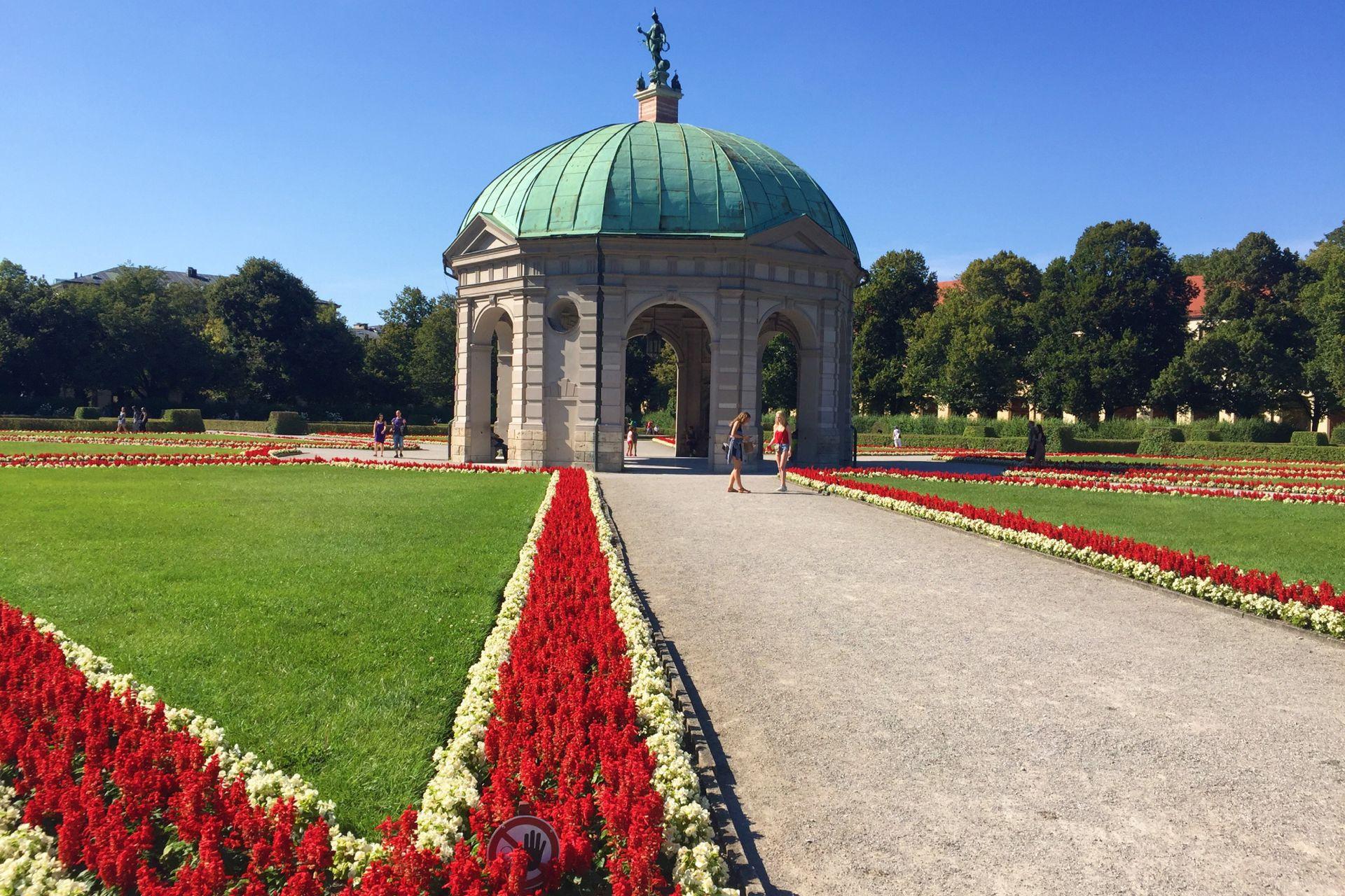Múnich cuenta con hermosos parques y jardines.
