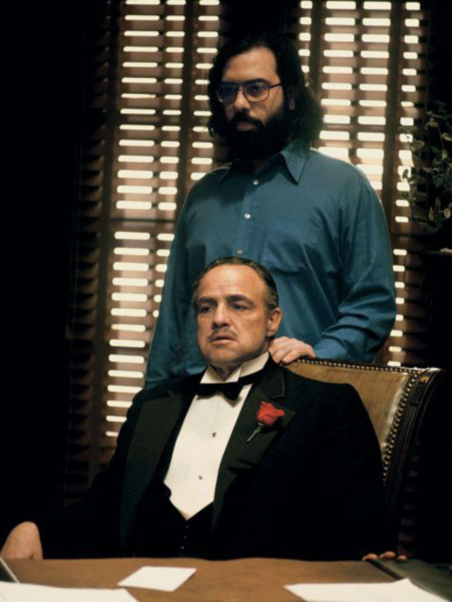 Coppola detrás de su estrella: Marlon Brando