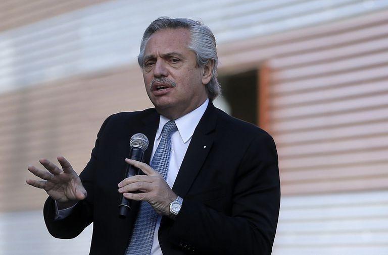 El Presidente Alberto Fernandez recorrió las obras del Centro Argentino de Protonterapia (CeArP), el primero para el tratamiento del cáncer con protones de Latinoamérica