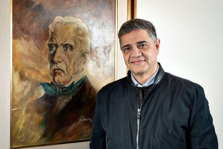 Jorge Macri, en la entrevista con LA NACION