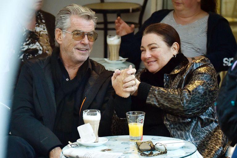 Pierce Brosnan y su esposa, Keely Shaye, de vacaciones en Portofino