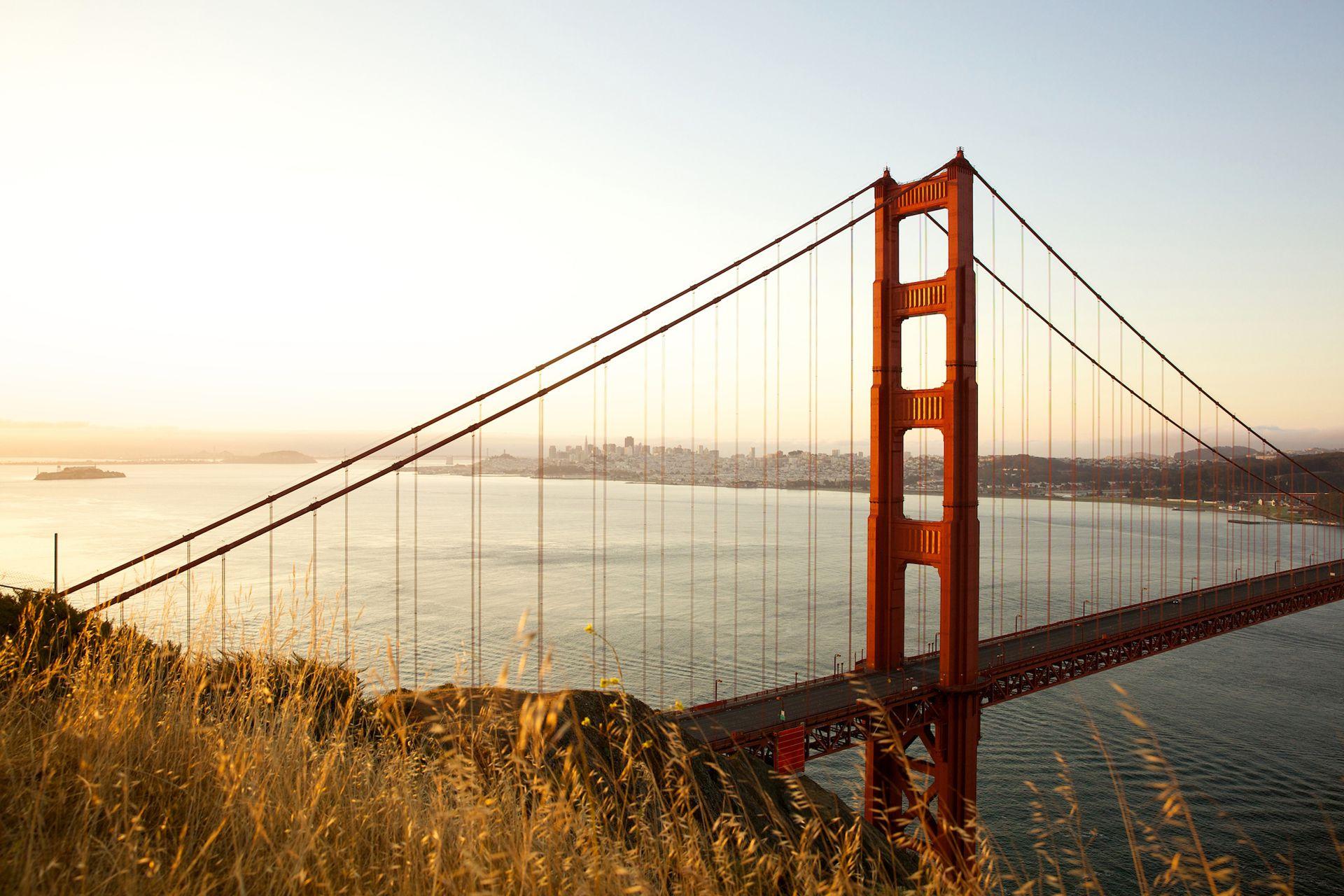 El Golden Gate Bridge, todo un símbolo de la ciudad