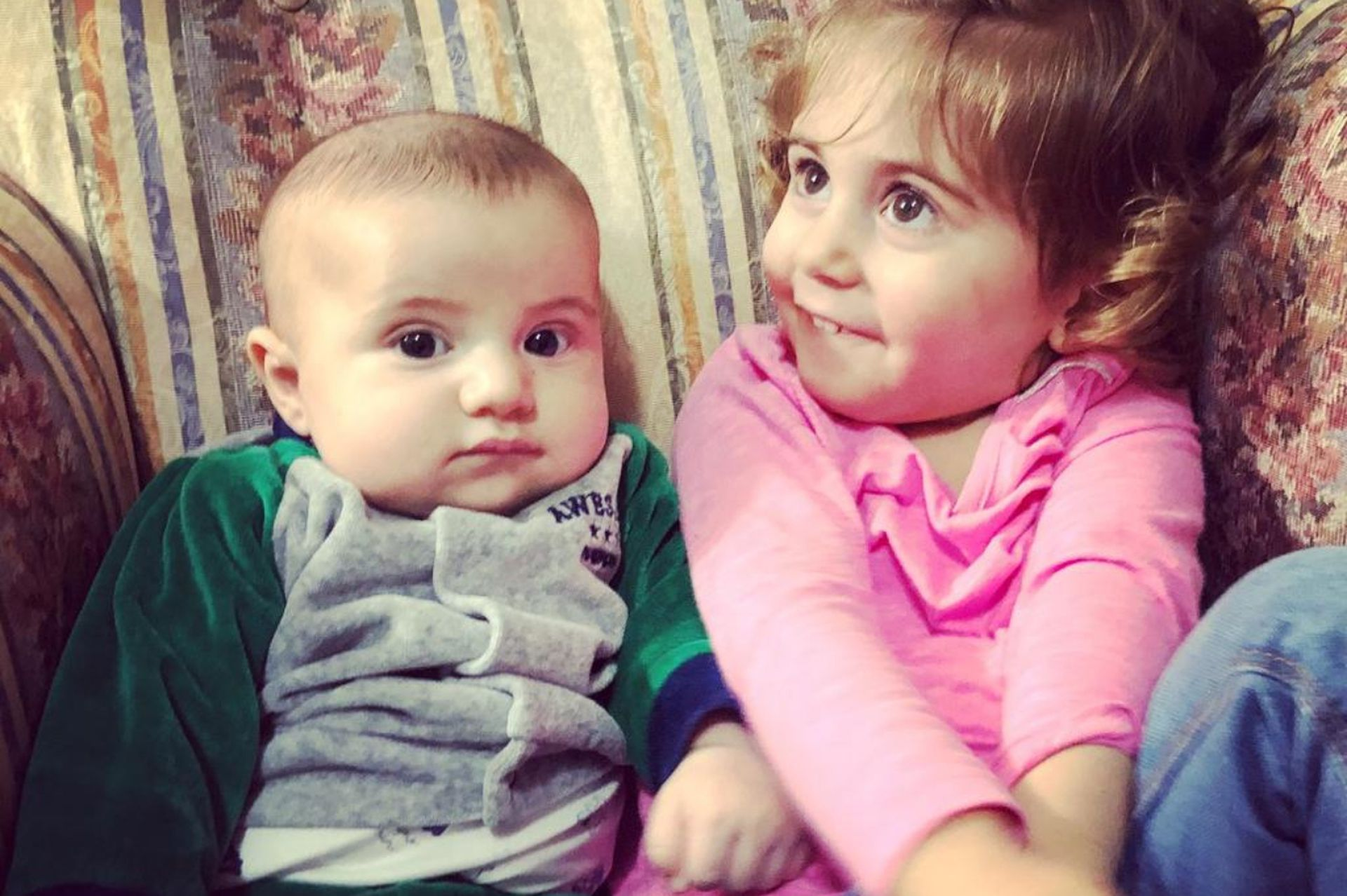 Isabella y Felipe.