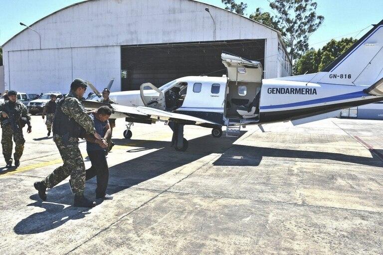 Mario Morfulis Herrera fue trasladado desde Yacuiba hacia Buenos Aires en un avión de Gendarmería