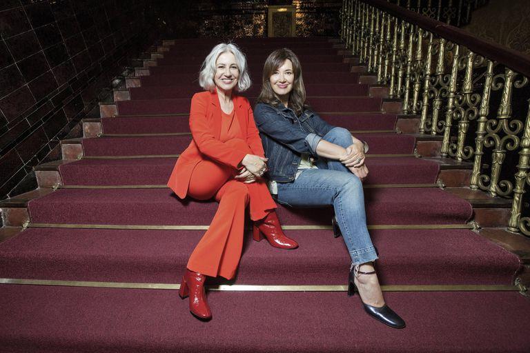 Mercedes Morán y Andrea Bonelli, dos de las actrices del tríptico Teoría King Kong