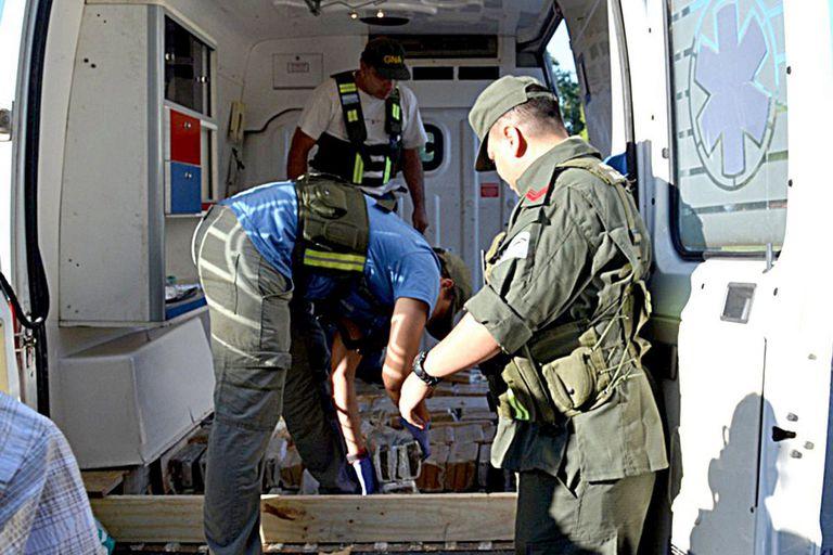 Detectaron que bandas narco emplean vehículos de emergencia médica en un intento de evitar los controles viales de las fuerzas de seguridad