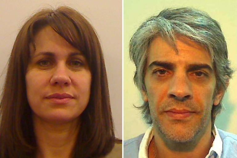 Pablo Echarri y Nancy Dupláa, una de las parejas del mundo del espectáculo que mantuvo la seriedad a la hora de posar para la foto 4x4