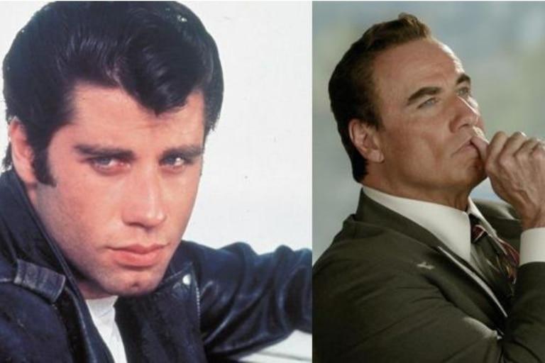 John Travolta en Grease y en The People v OJ Simpson