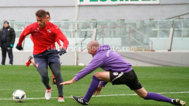 Independiente le ganó a Defensor Sporting