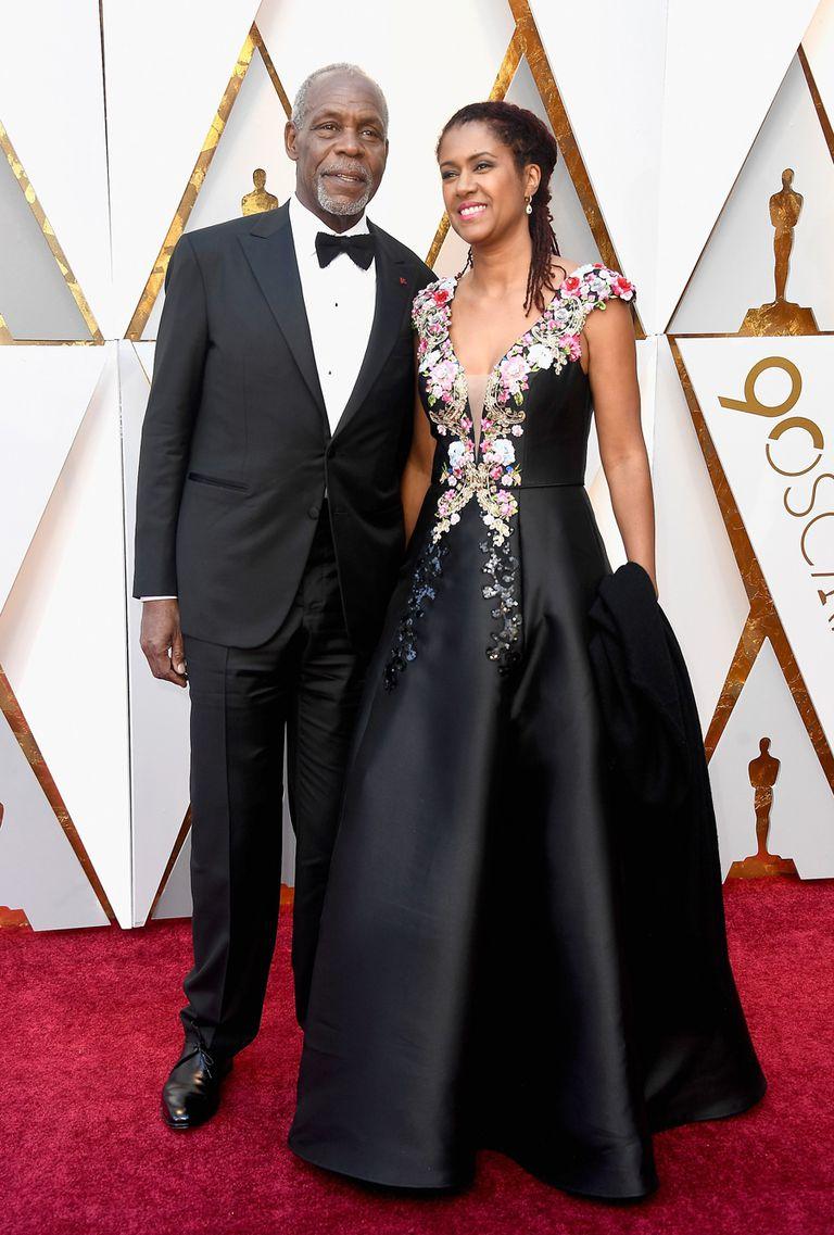 Danny Glover y su esposa, Eliane Cavalleiro