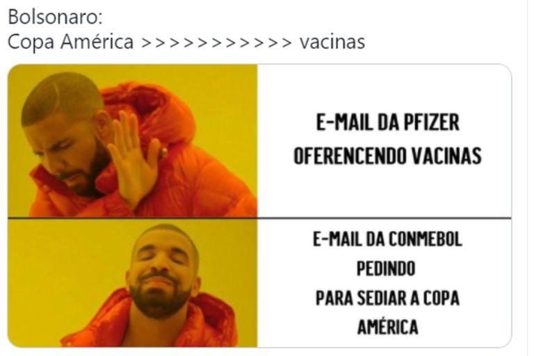 Las reacciones también le apuntaron al presidente brasileño Jair Bolsonaro
