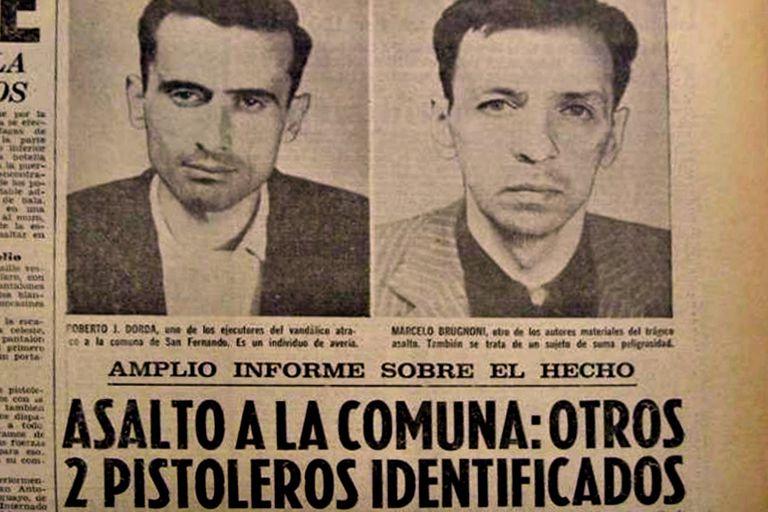 Dorda y Brugnoni fueron abatidos en Montevideo