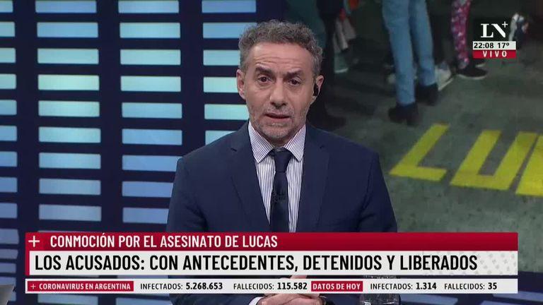 """""""¿En manos de quiénes estamos?"""": el duro comentario de Majul tras el homicidio en Quilmes"""