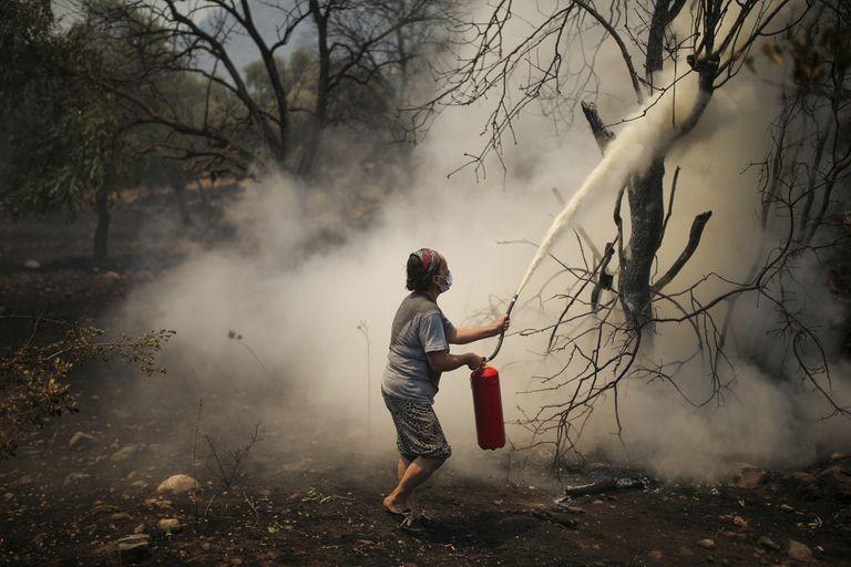 Incendios en Turquía