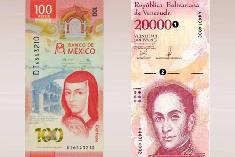 El peso mexicano ganador había sido muy criticado en las redes sociales porque varios usuarios de Twitter lo compararon al diseño del billete venezolano