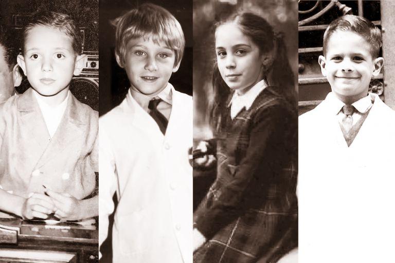 "Cómo eran ""Bartolito"" López Murphy, ""Dolfi"" Rubinstein, ""Mariu"" Vidal y ""Javi"" Milei en la escuela"