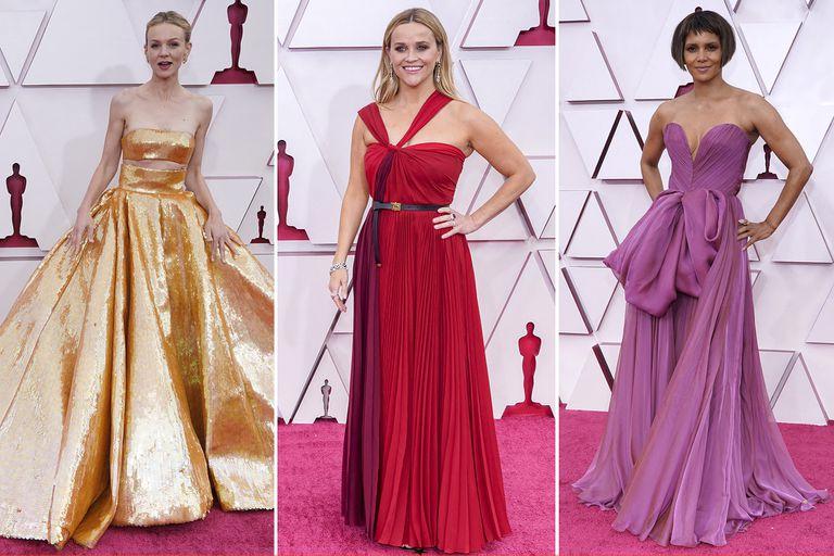 Premios Oscar 2021: todo lo que pasó en la alfombra roja y los looks