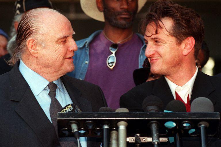 Marlon Brando y su alumno Sean Penn