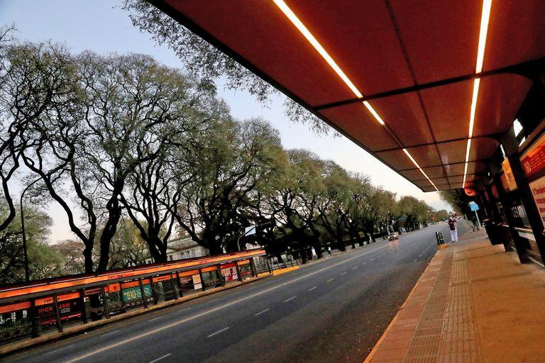 Así amaneció la ciudad de Buenos Aires el día del paro nacional