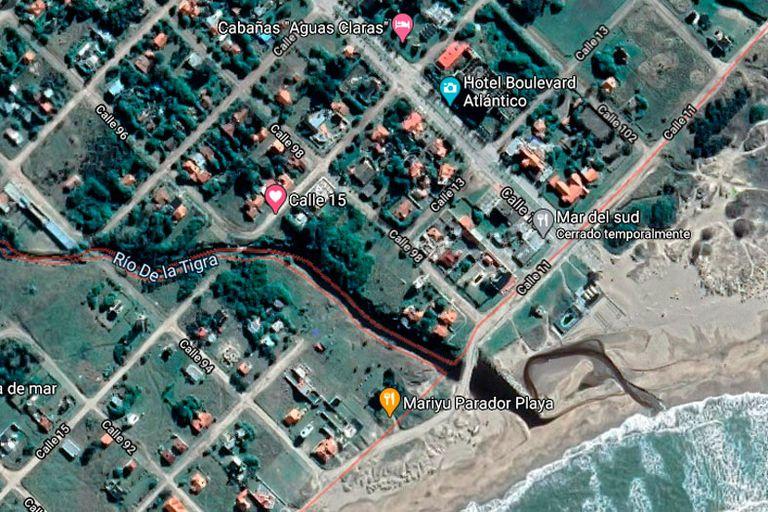 La zona donde estaría el cementerio judío de Mar del Sur
