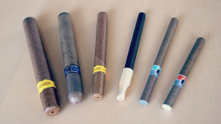 Distintos formados de cigarillo electrónico