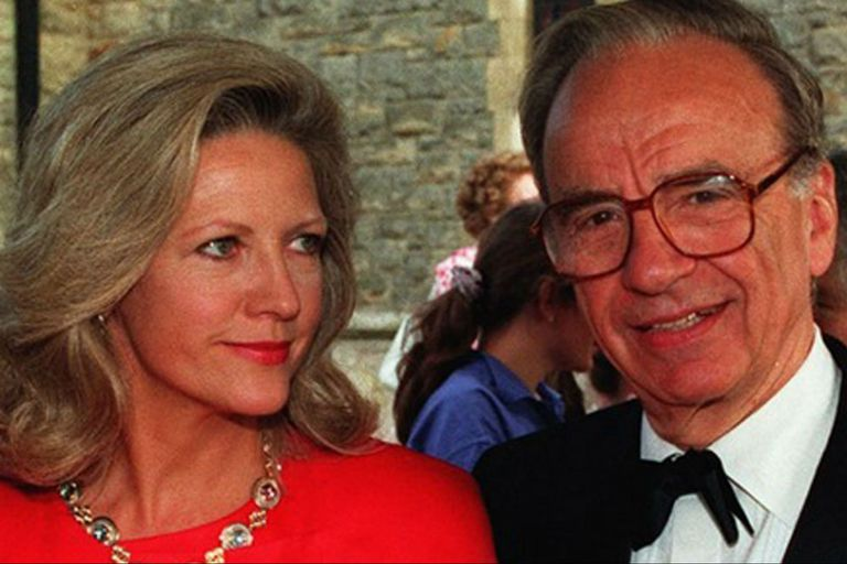 Rupert Murdoch y Anna