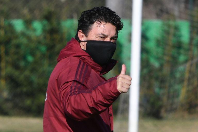 Marcelo Gallardo, encargado de darle otro vuelo a River y con la Copa Libertadores como objetivo más próximo