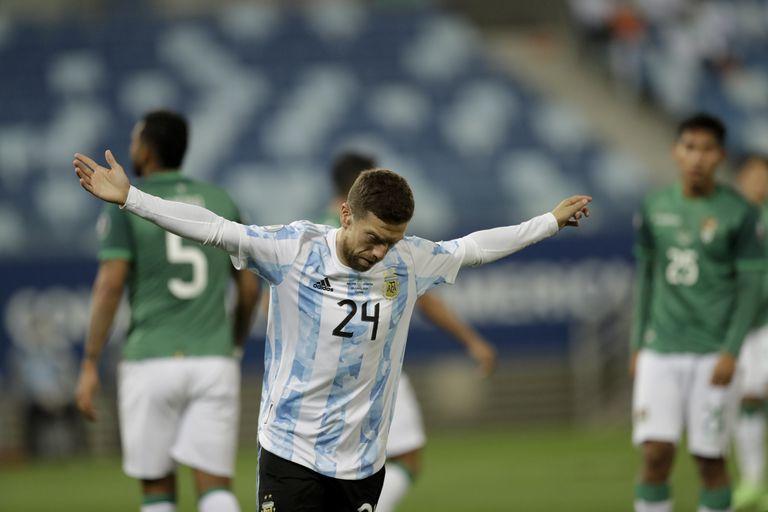 Alejandro Gómez volvió a marcar en el seleccionado argentino, ¿seguirá como titular?