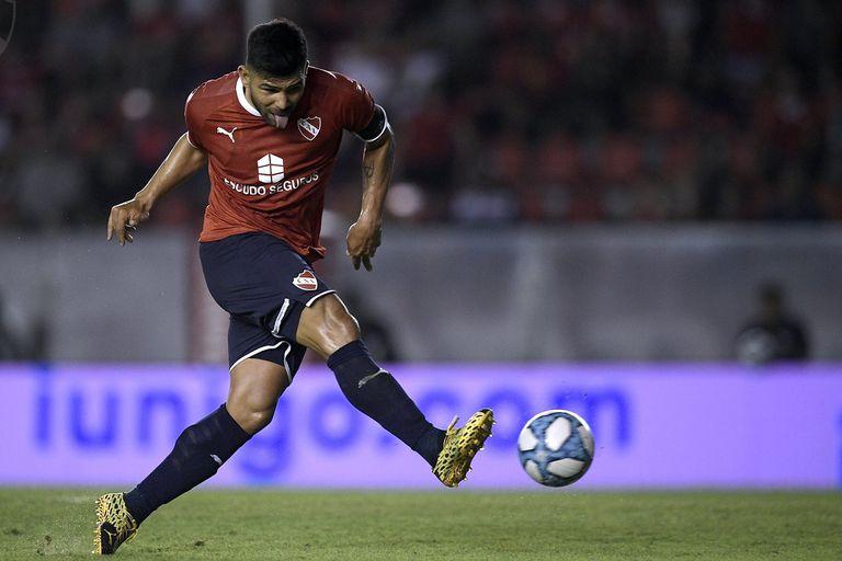 Silvio Romero, la carta de Independiente en el ataque