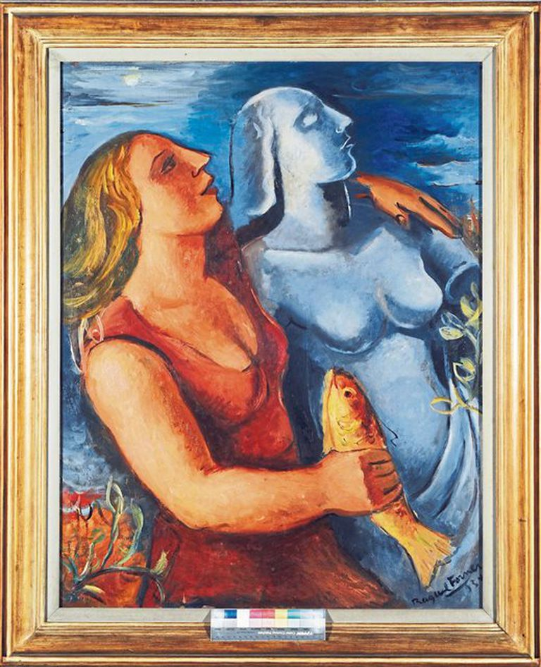 Raquel Forner. Composición, 1934. En el MNBA, sede Neuquén.