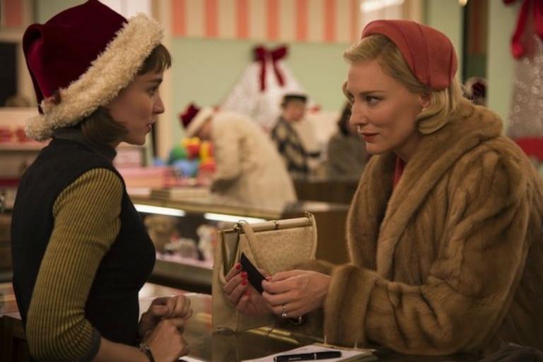 Rooney Mara y Cate Blanchett en Carol