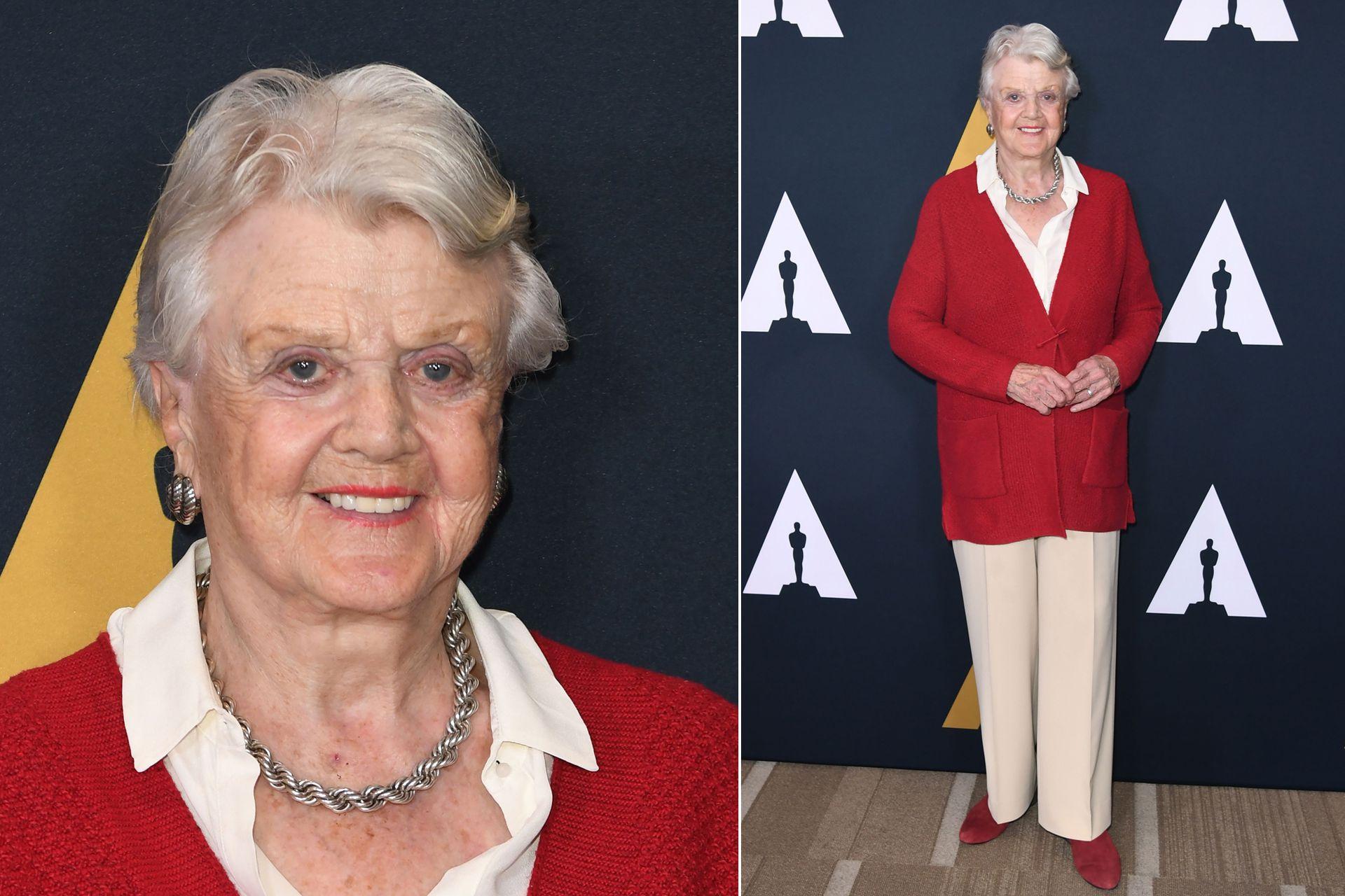 Angela Lansbury, la protagonista de la recordada serie La reportera del crimen, concurrió al evento de la Robert Osborne Celebration of Classic Film en la Academia de Cine, Artes y Ciencias de Hollywood