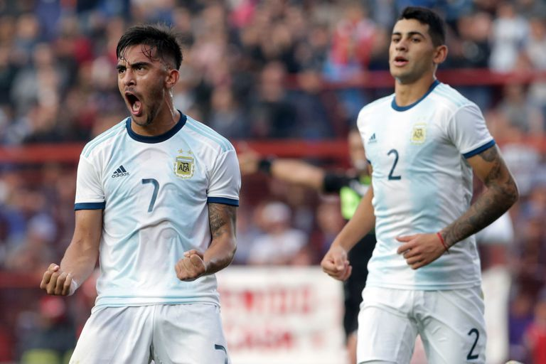 El seleccionado argentino Sub 23 venció por 3-1 a Colombia: mirá los goles