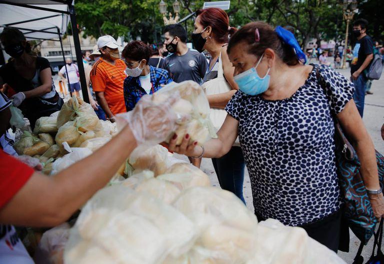 Panaderos del Área Metropolitana hicieron la protesta para reclamar por el incremento de los costos